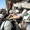 Rusya İdlib'i vurdu! 9 sivil öldü!