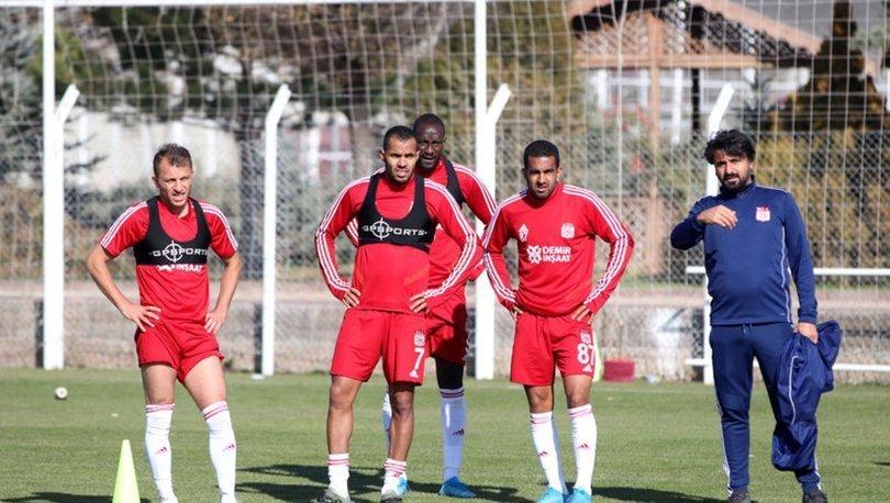 Sivasspor'da Kayserispor maçı hazırlıkları