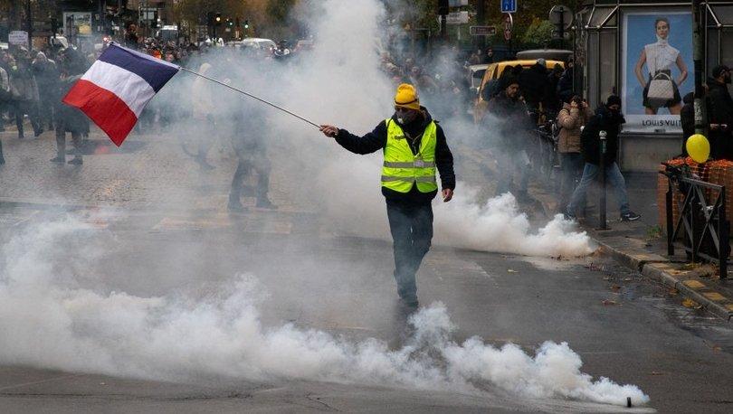 Sarı Yelekliler protestolarının 1. yılı: Paris'te 147 gösterici gözaltına alındı
