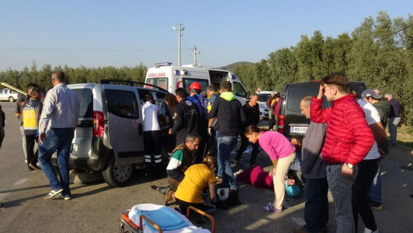 Bursa'da feci kaza! 3'ü ağır, 10 yaralı