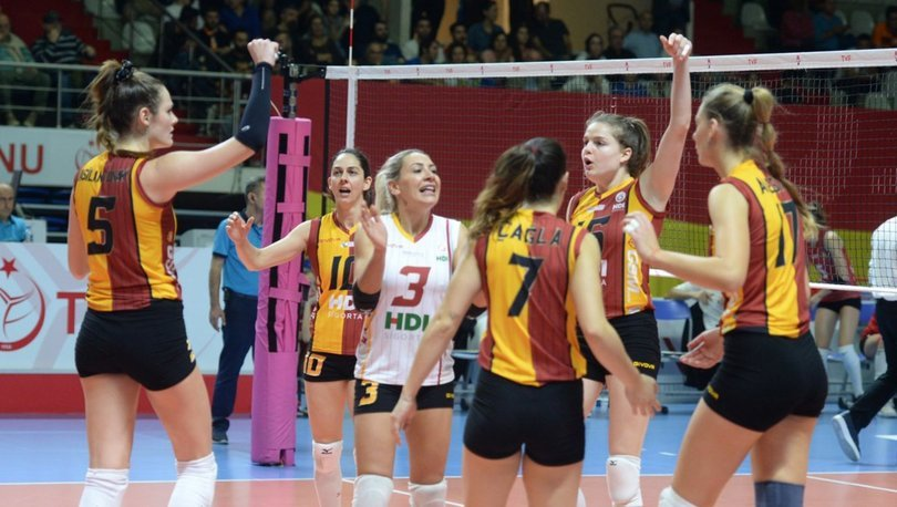 Galatasaray HDI Sigorta: 3 - Atlasglobal Yeşilyurt: 0
