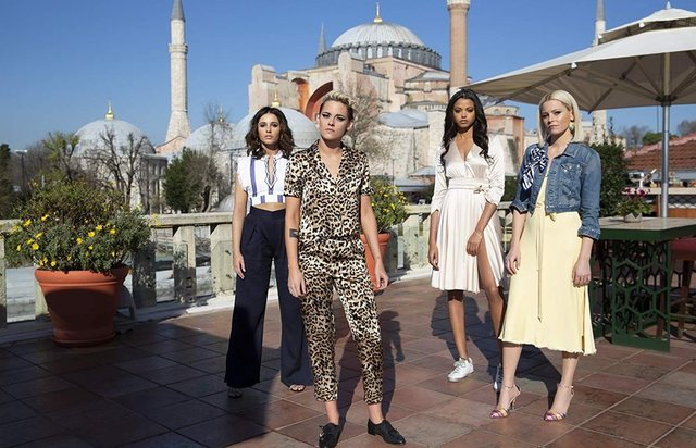 Charlie'nin Melekleri: En çok İstanbul'u sevdik