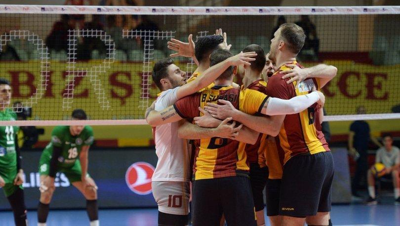 Galatasaray HDI Sigorta: 3 - Bursa Büyükşehir Belediyespor: 1 | MAÇ SONUCU