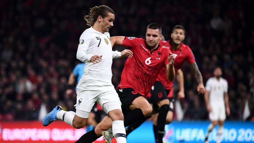 Fransa Arnavutluk maçında sürpriz yok!