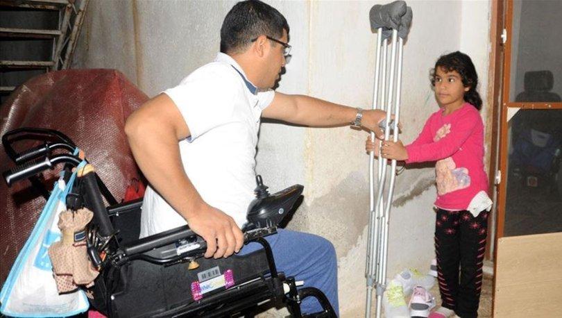 Protez bacağına kavuşacağı günü heyecanla bekliyor