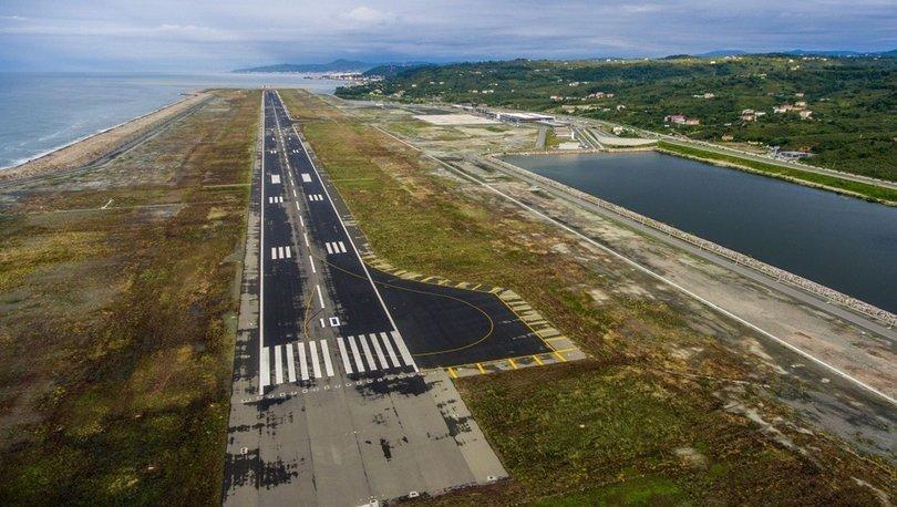 Ordu-Giresun Havalimanı 4 milyon 192 milyon yolcuya hizmet verdi