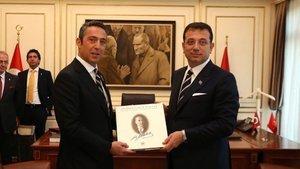 Ali Koç, Ekrem İmamoğlu'nu ziyaret etti