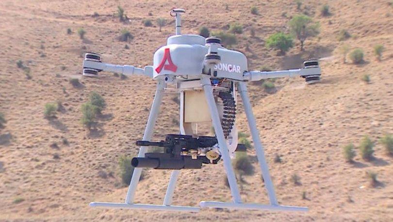 silahlı drone Songar