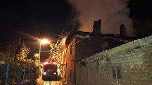 Burdur'da yangın! Yaşlı kadın ölü bulundu