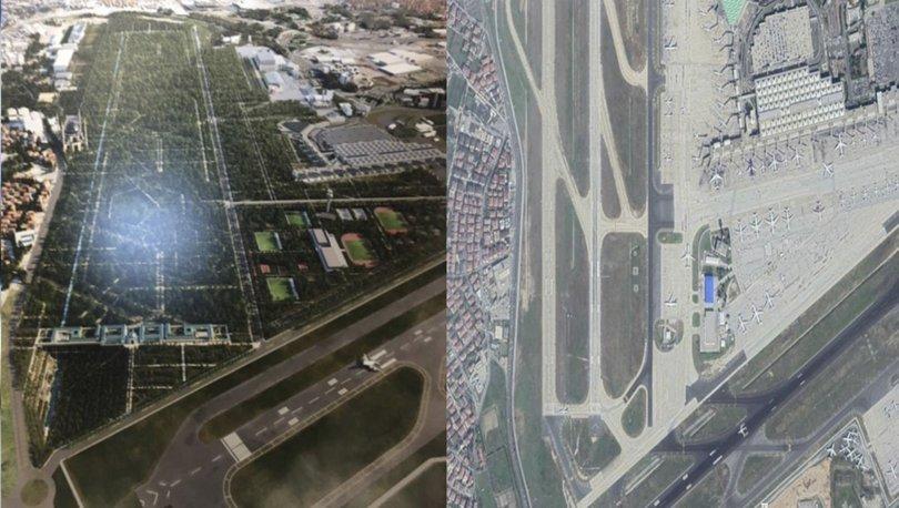 İşte Atatürk Havalimanı'na yapılacak Millet Bahçesi