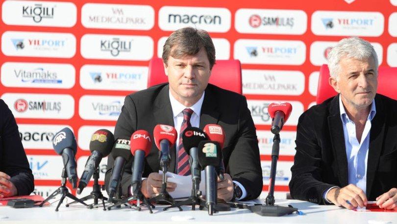 Ertuğrul Sağlam: Samsunspor'u Süper Lig'in 6. şampiyonu yapmak için geldim