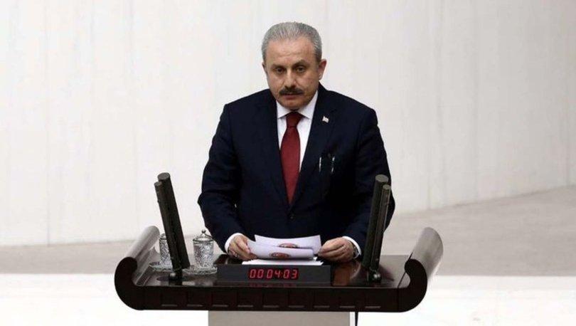 TBMM Başkanı Mustafa Şentop, grup başkanlarıyla görüştü