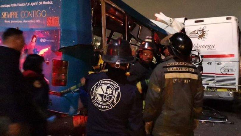 Meksika'da trafik kazası: 11 ölü, 25 yaralı