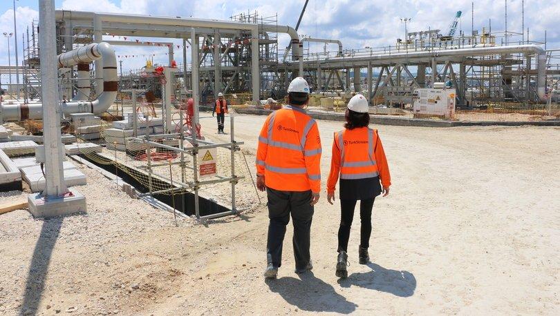 TürkAkım'da sene sonu Türk pazarına doğalgaz sağlanmaya başlanacak