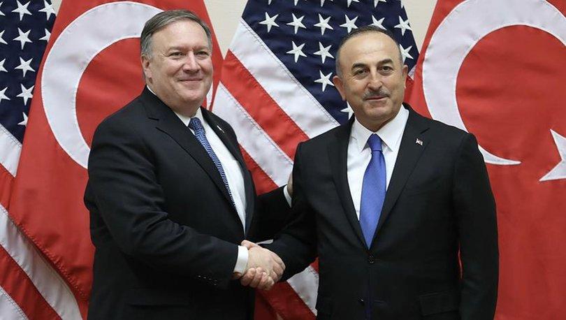 Son dakika... ABD Dışişleri Bakanı Pompeo: İlişkileri güçlendirmekte kararlıyız