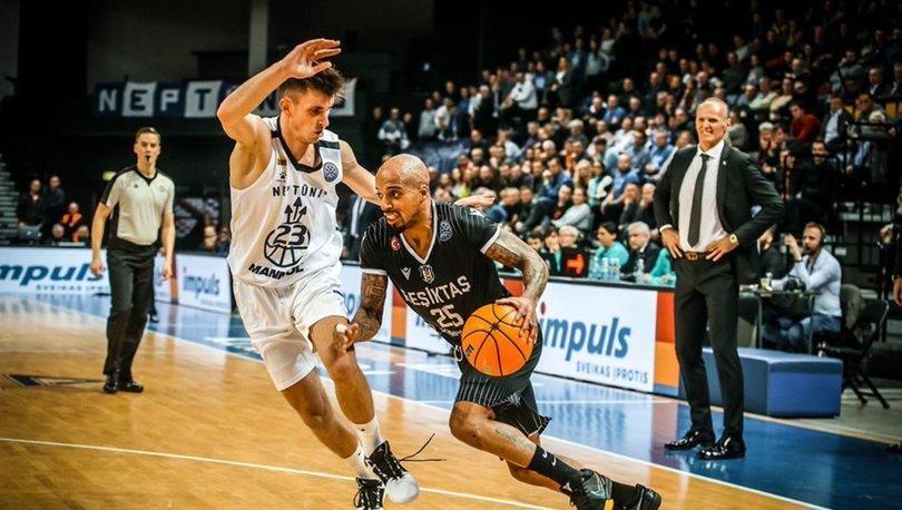 Neptunas: 86 - Beşiktaş Sompo Sigorta: 80   MAÇ SONUCU