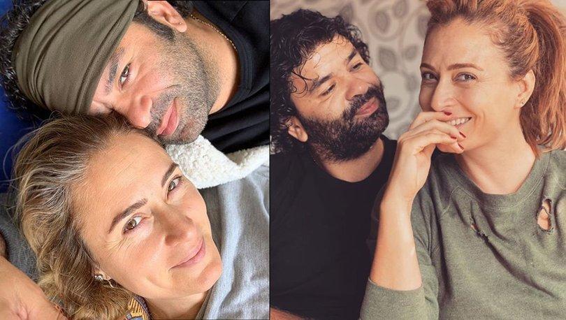 Ceyda Düvenci'den eşi Bülent Şakrak ile romantik paylaşım - Magazin haberleri