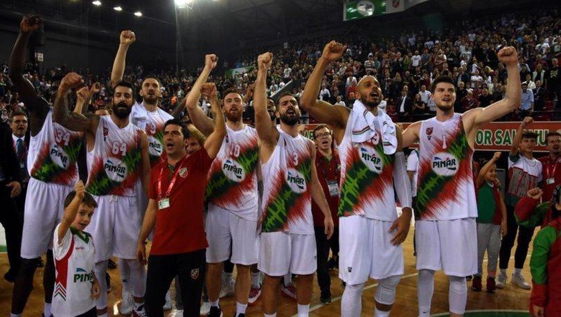 Pınar Karşıyaka, FIBA Avrupa Kupası'nda lider olarak bir üst turda