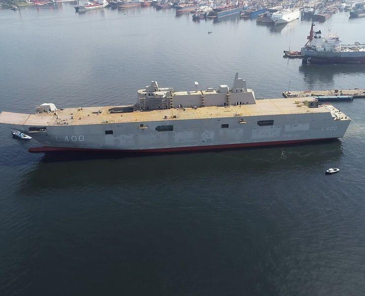 Türkiyenin en büyük savaş gemisi 2020'de hizmete girecek