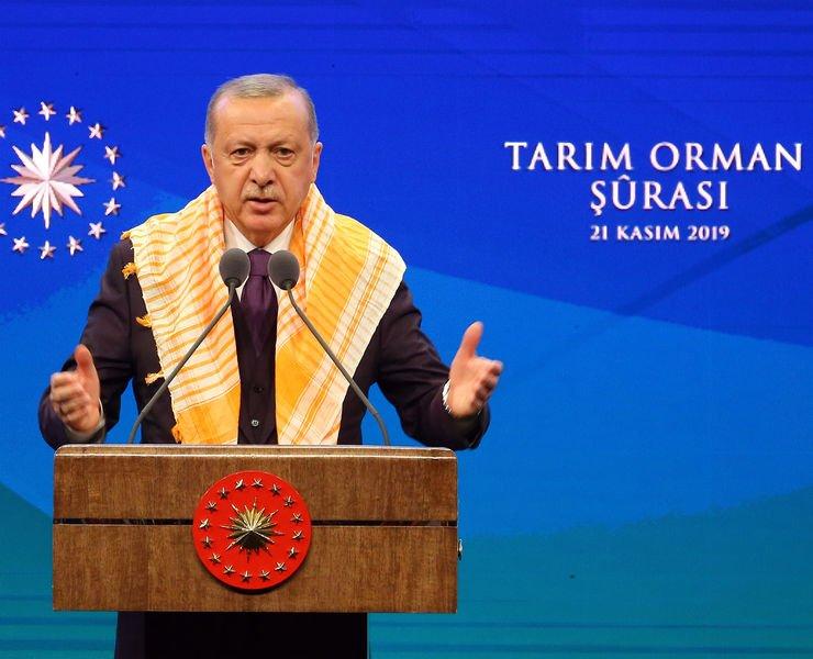 Cumhurbaşkanı Erdoğan'dan tarımda milli güvenlik vurgusu