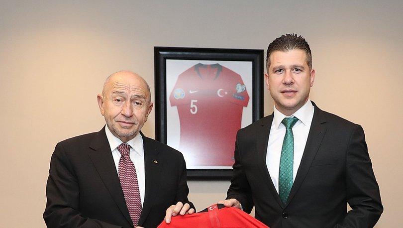 2. ve 3. Lig Kulüpler Birliğinden TFF Başkanı Özdemir'e ziyaret