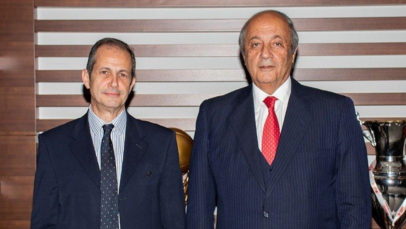 Anadolu Grubu Yönetim Kurulu Başkanı Tuncay Özilhan ve Anadolu Vakfı Genel Müdürü Selim Güven