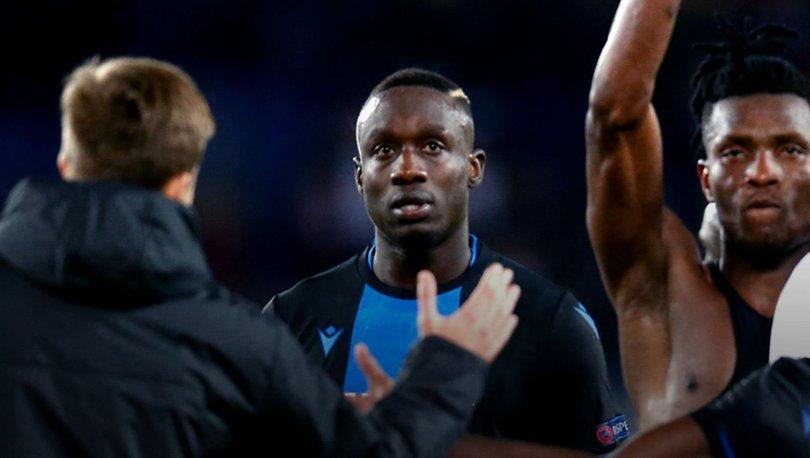 Diagne yine kadro dışı kaldı! Club Brugge açıkladı