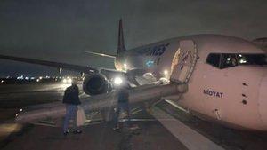 THY uçağı Odessa'da pistten çıktı!