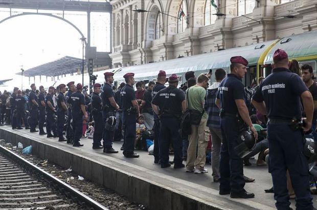 Macaristan'a düzensiz göçmen cezası