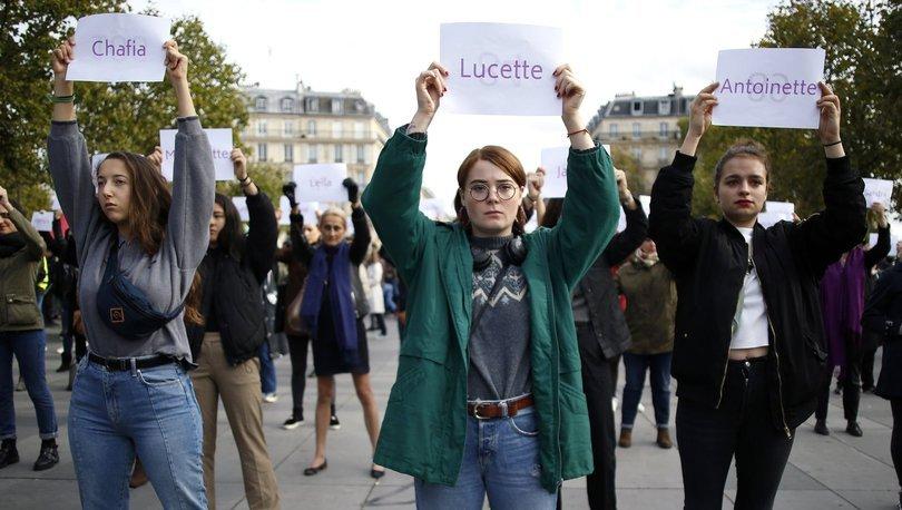 Fransa kadın cinayetlerine karşı harekete geçiyor