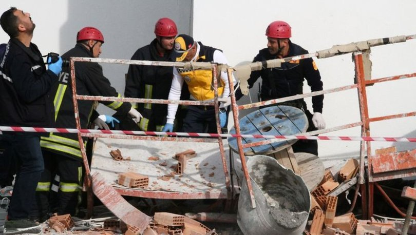 Çorum'da inşaat asansörünün düşmesi sonucu 1 kişi öldü