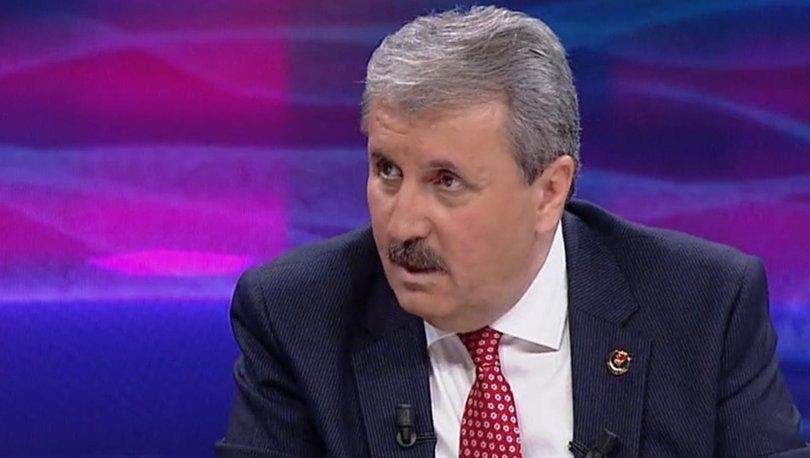 BBP Genel Başkanı Mustafa Desdici Türkiye'nin erken bir seçime ihtiyacının olmadığını söyledi