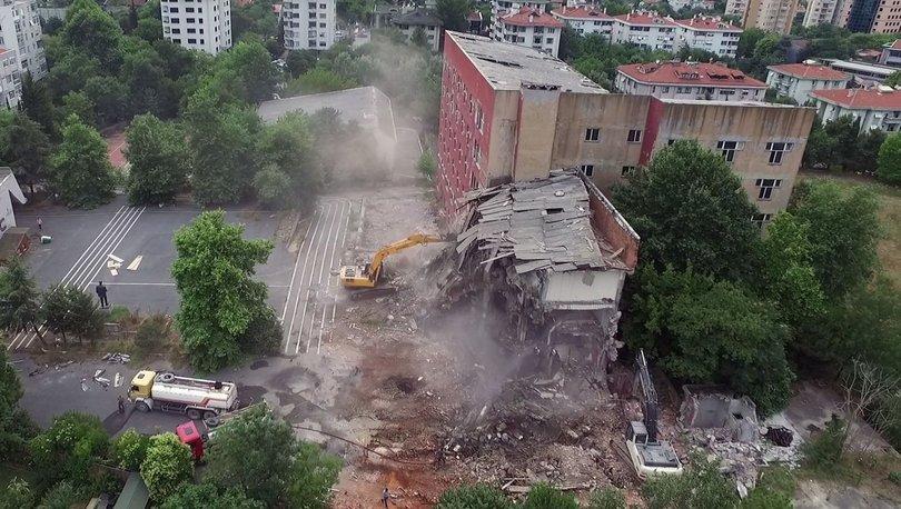 Etiler Polis Okulu arazisine yapılan projeye iptal kararı