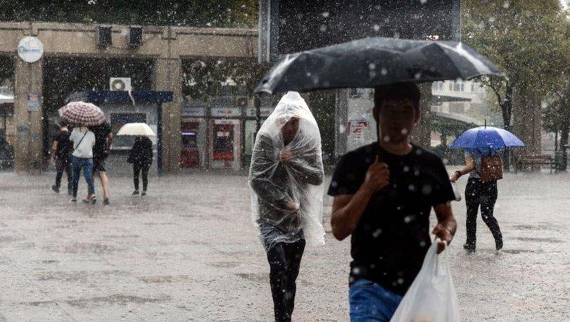 GELİYOR! Meteoroloji'den son dakika kuvvetli sağanak yağış alarmı! - HABERLER
