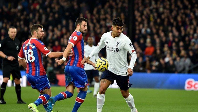Crystal Palace: 1 - Liverpool: 2   MAÇ SONUCU