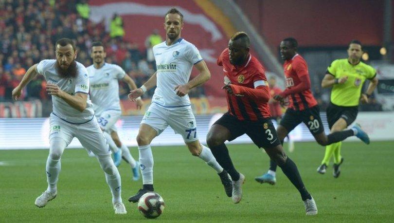 Eskişehirspor: 1 - Büyükşehir Belediye Erzurumspor: 2 | MAÇ SONUCU