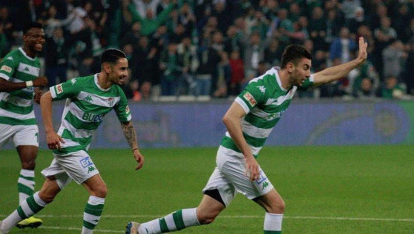 Bursaspor: 1 - Keçiörengücü: 0 | MAÇ SONUCU