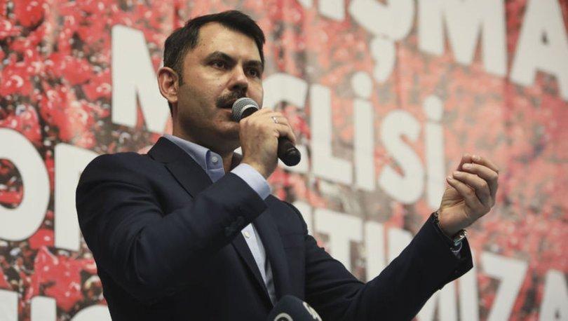 Çevre ve Şehircilik Bakanı Murat Kurum: Hiçbir zaman arka oda partisi olmadık
