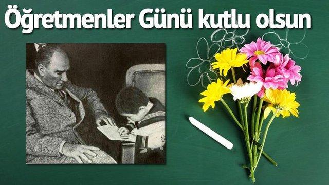 24 Kasım Öğretmenler Günü mesajları! En güzel öğretmenler günü mesajları gönderin... Öğretmenler Günü Kutlu Olsun!