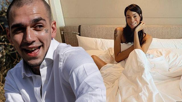 Ezhel'in sevgilisi Abiba Bakayoko'dan yatak pozu - Magazin haberleri