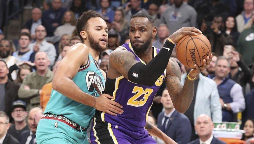 Los Angeles Lakers galibiyet serisini 7 maça çıkardı
