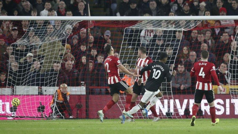 Sheffield United Manchester United maç SONUCU - Bol gollü düelloda kazanan yok!