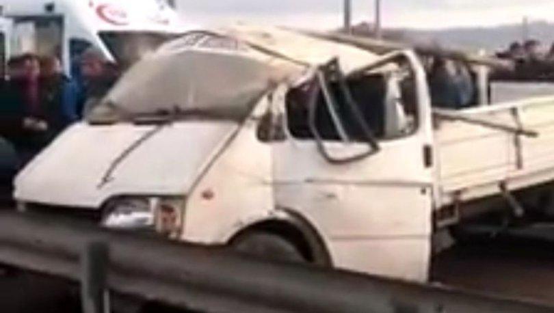 Afyonkarahisar'da düğün konvoyunda kaza! 1 ölü, 3 yaralı