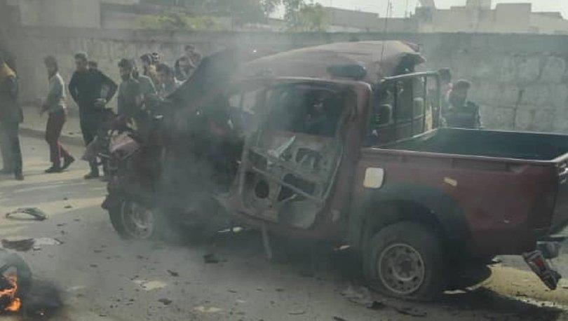 SON DAKİKA! PKK'dan Azez'de bombalı saldırı