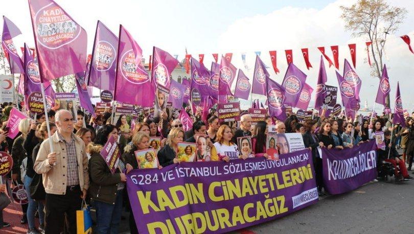 kadın cinayetleri protestosu