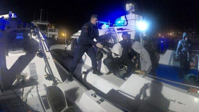 İzmir'de 61 kaçak göçmen yakalandı