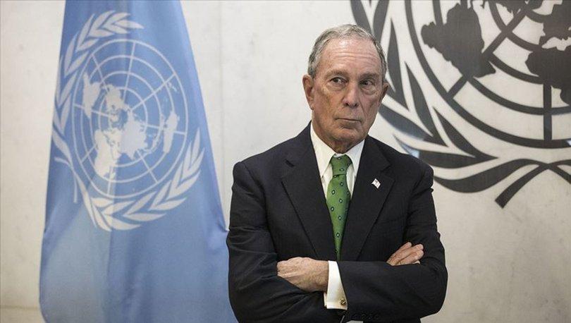 ABD'de başkanlık yarışına katılan Bloomberg BM iklim değişikliği temsilciliğinden ayrıldı