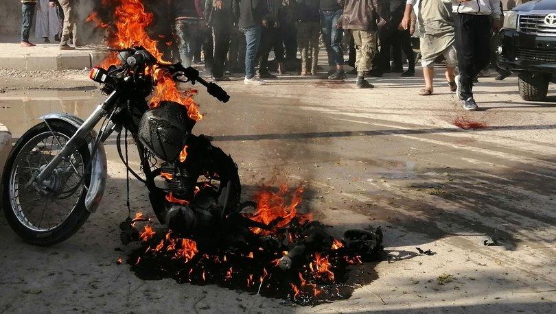 PKK/YPG'nin yeni taktiği bombalı motosikletler