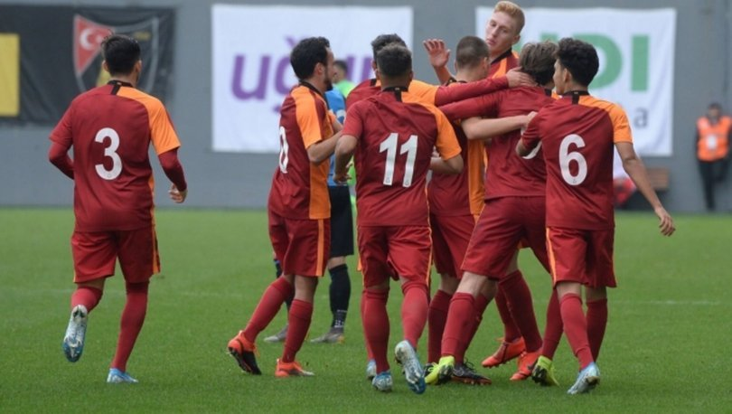 Galatasaray'ın gençleri, Club Brugge'ü devirdi!