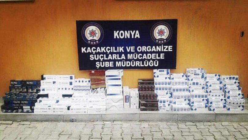 Konya'da durdurulan TIR'lardan 54 bin litre kaçak akaryakıt çıktı